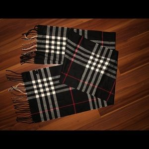 knock off Burberry scarf